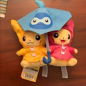 Umbrella for two Pikachu NWT